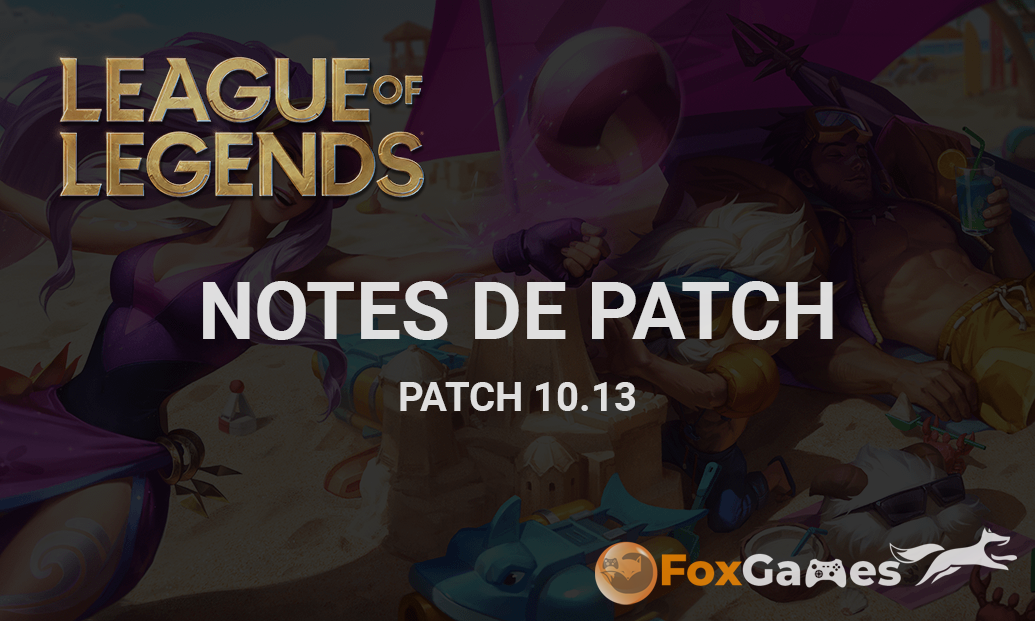 Notes de Patch 10.13
