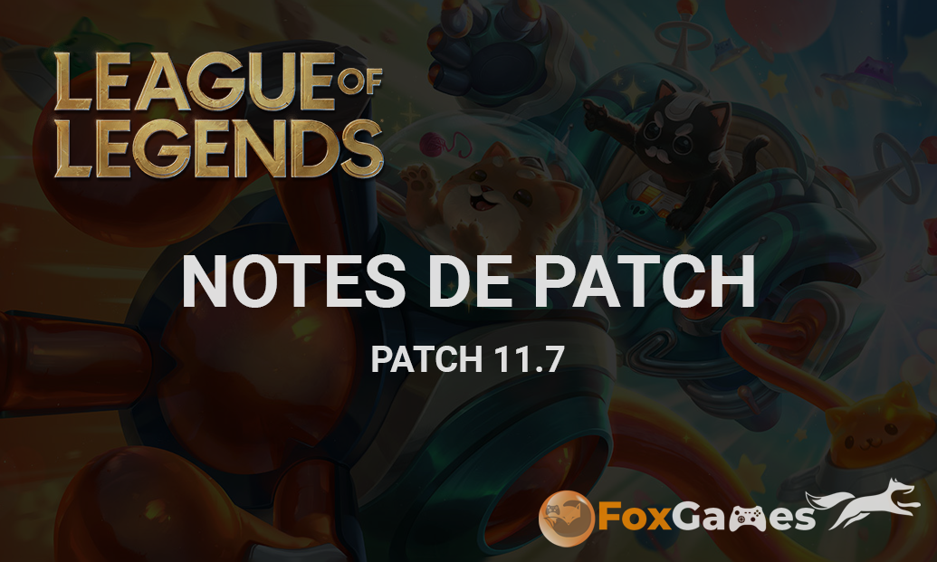 Notes de Patch 11.7