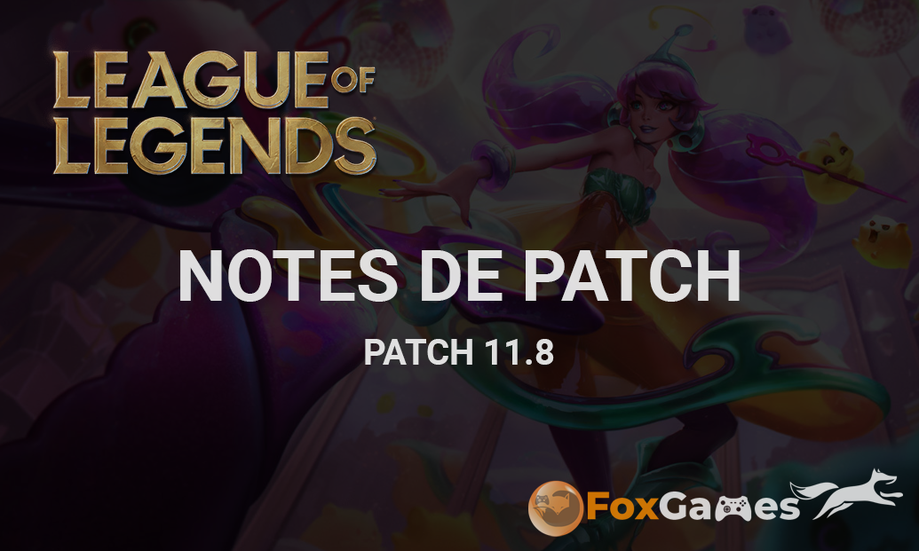 Notes de patch 11.8