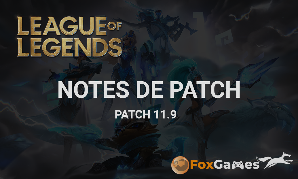 Notes de patch 11.9